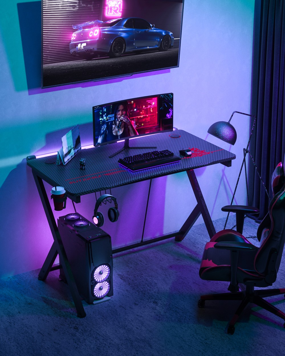 Blitzwolf BW-GD1 gaming desk