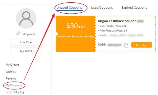 30 USD cashback coupon - GeekBuying