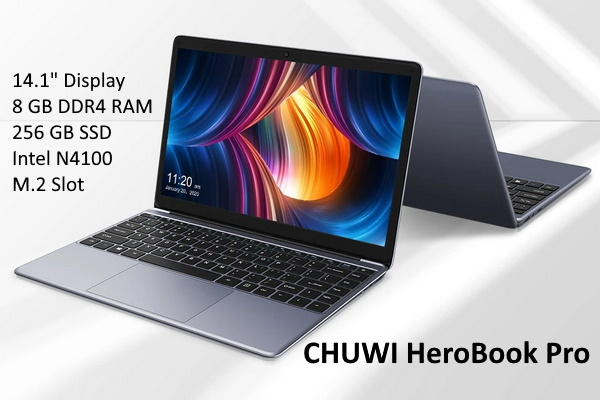 CHUWI HeroBook Pro - Ultralight laptop now for just $220