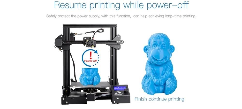 Creality Ender 3 Pro - Auto Resume Printing