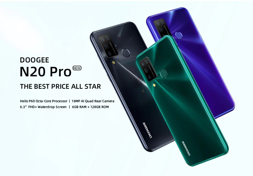 DOOGEE N20 Pro - The Best Price All Star
