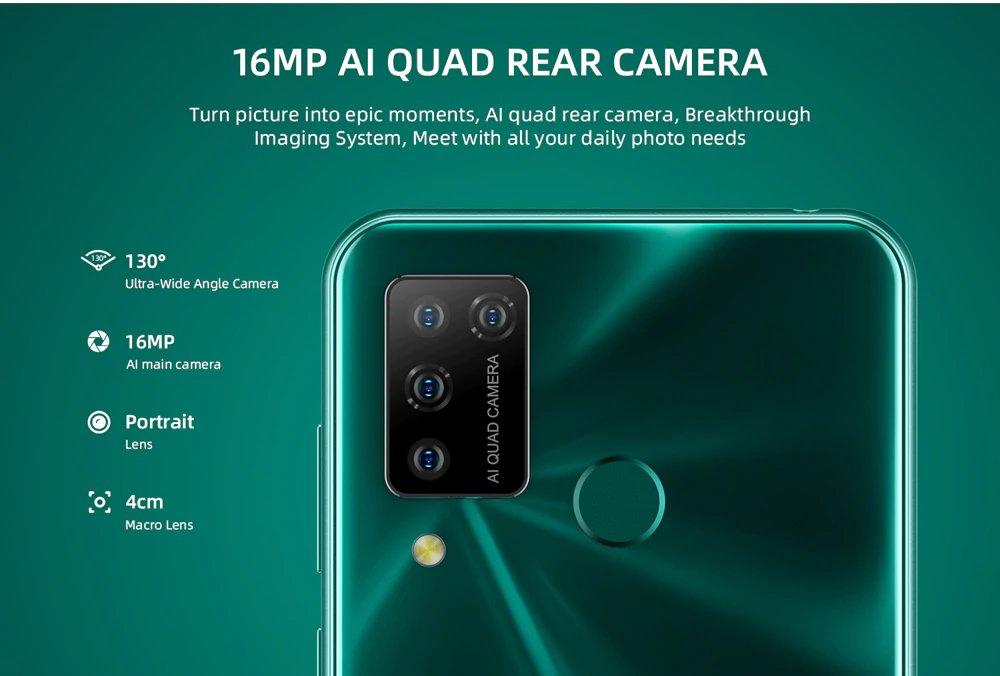 DOOGEE N20 Pro - Quad Camera