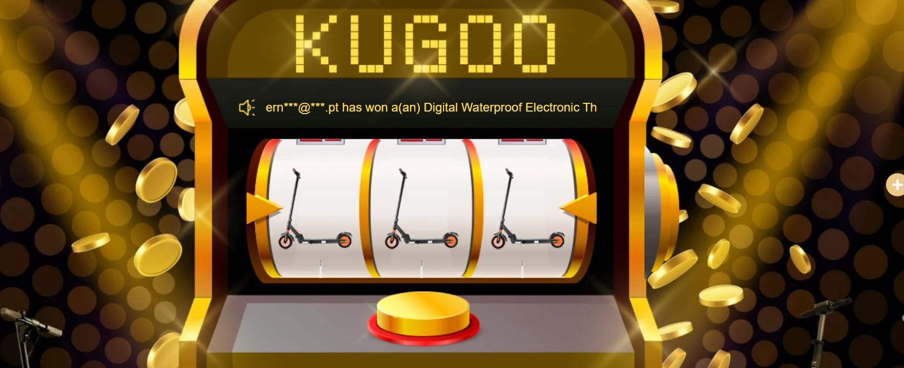 Lucky Draw - KUGOO 6th Anniversary