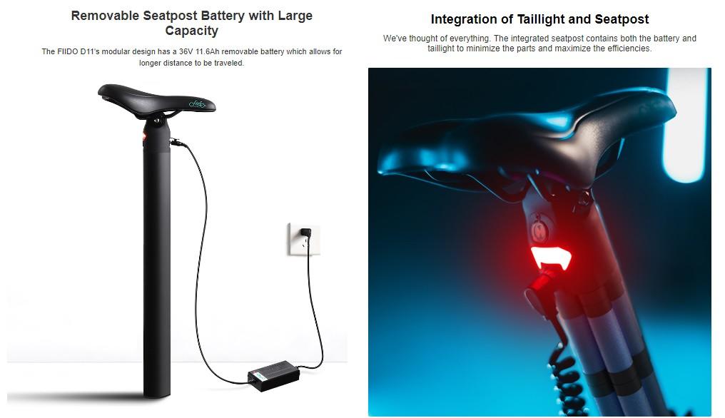 Fiidoo D11 - electric bike