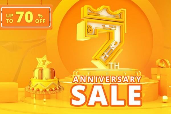 GeekBuying 7th Anniversary Sale