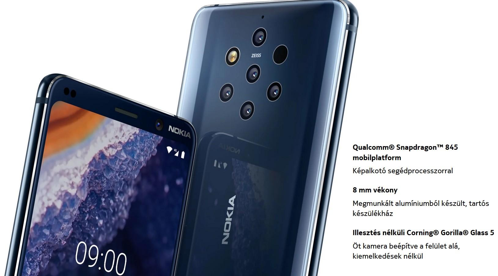 Nokia 9 Pureview - Snapdragon 845