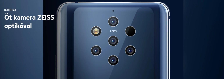 Nokia 9 Pureview - camera