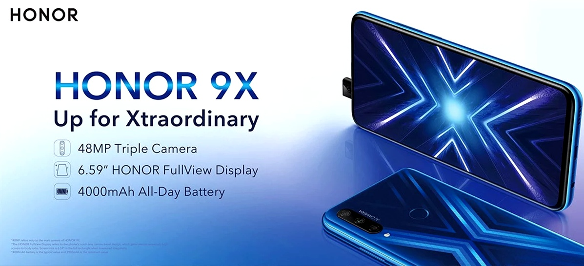 Huawei Honor 9X - Promotion
