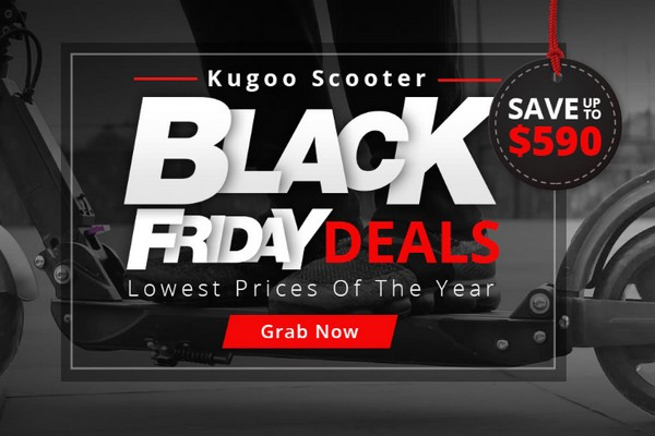 KUGOO Black Friday promotion 2019