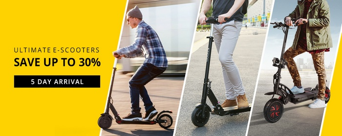 KUGOO Ultimate E-Scooters