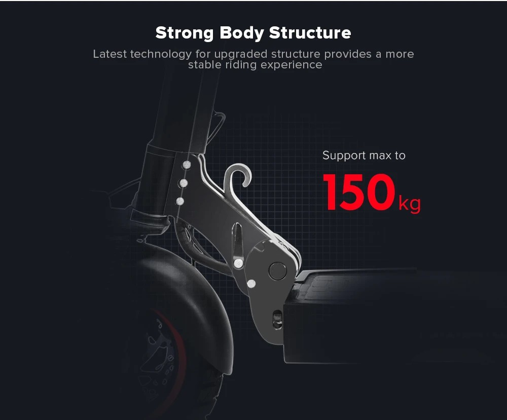 KUGOO KIRIN M4 Pro - Strong Body Structure