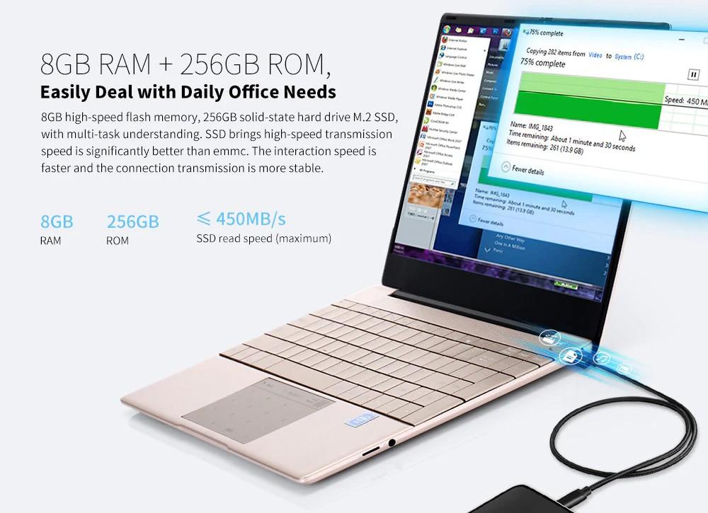 KUU K2 - 8 GB - 256 GB SSD