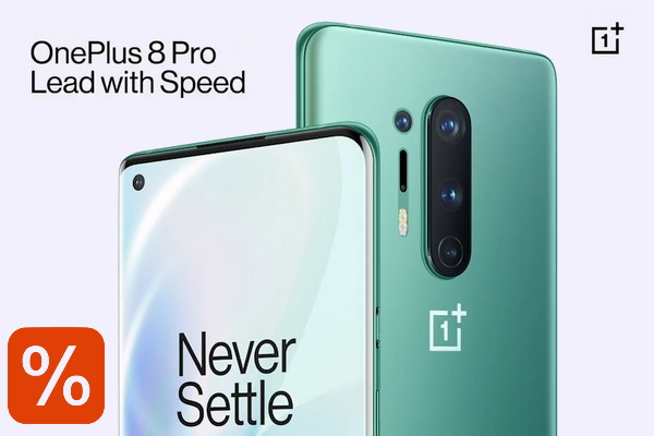 OnePlus 8 promotion