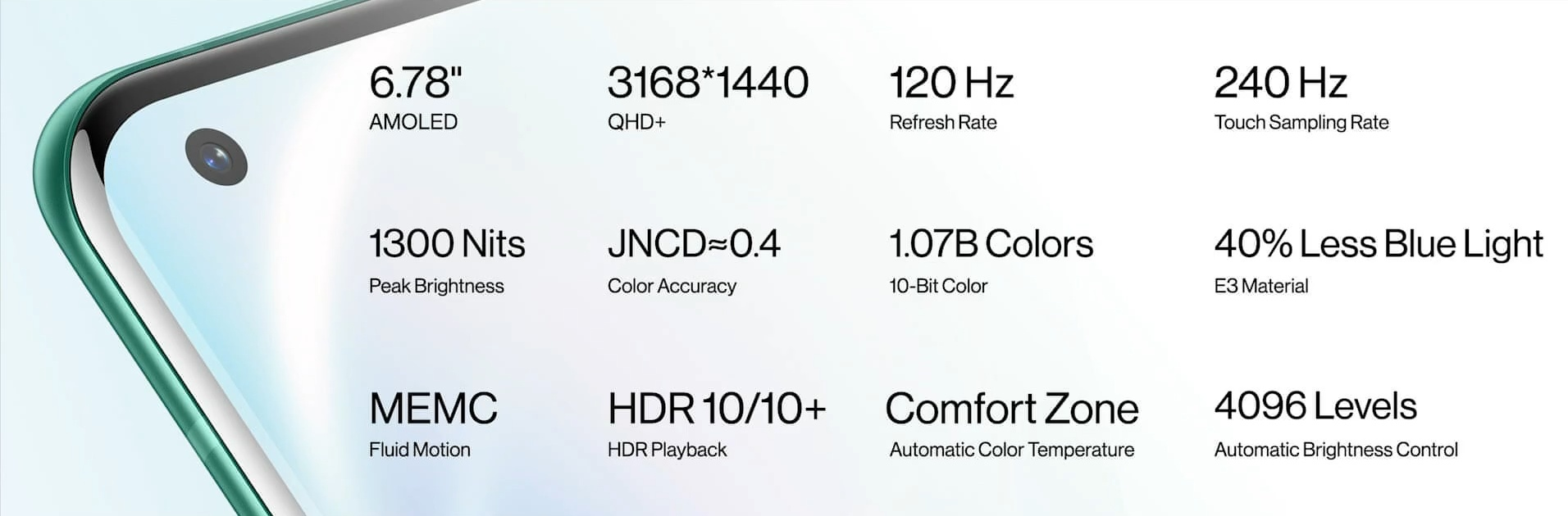 OnePlus 8 Pro - Display