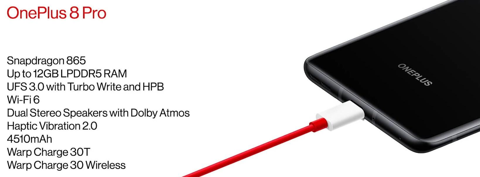 OnePlus 8 Pro - Snapdragon 865