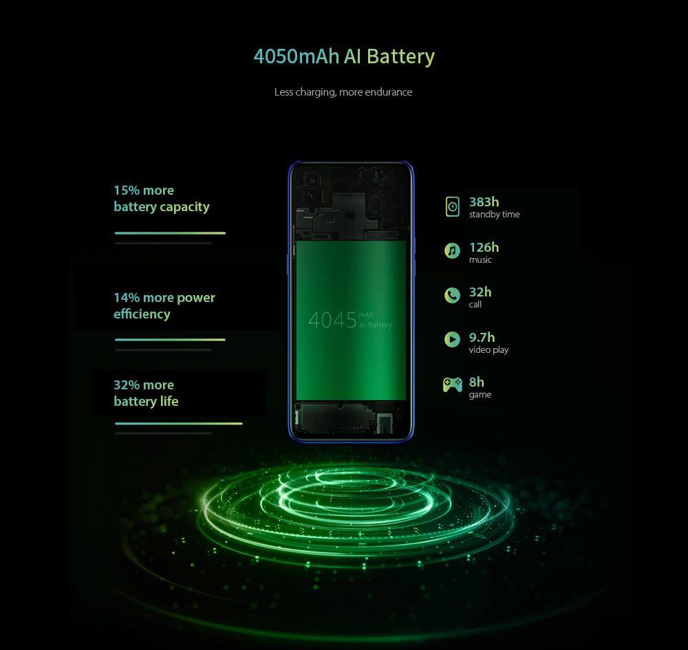 OPPO Realme 3 Pro battery