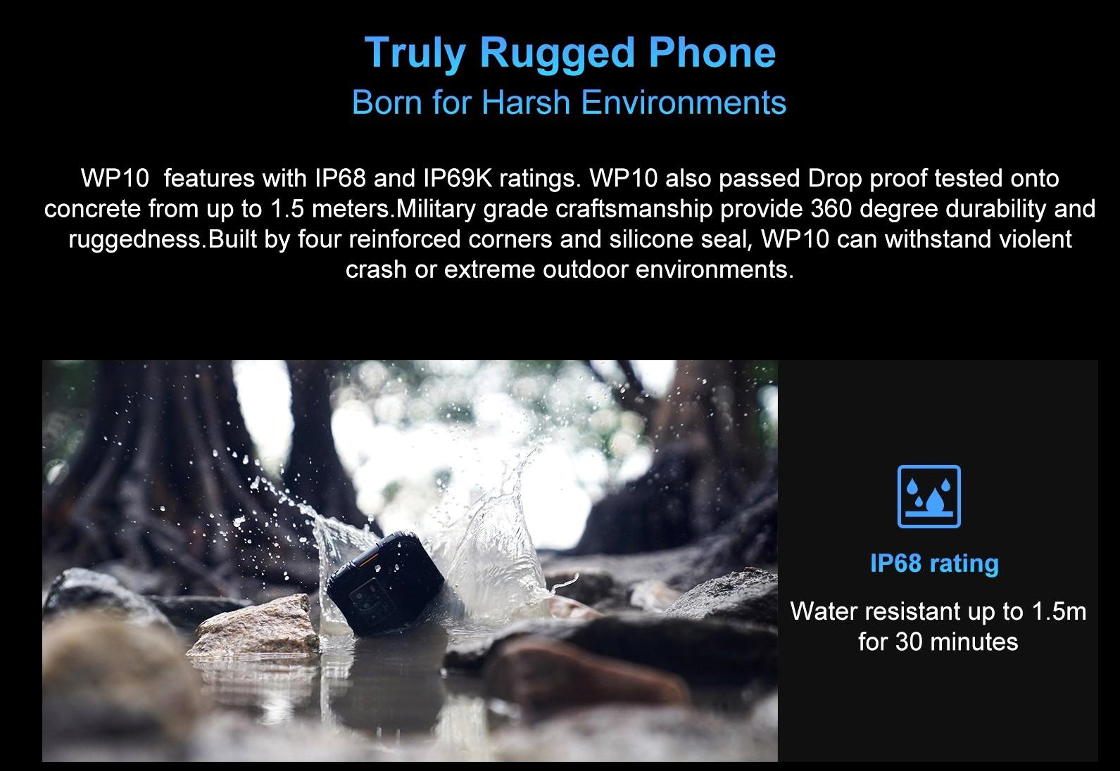 Oukitel WP10 - Rugged phone