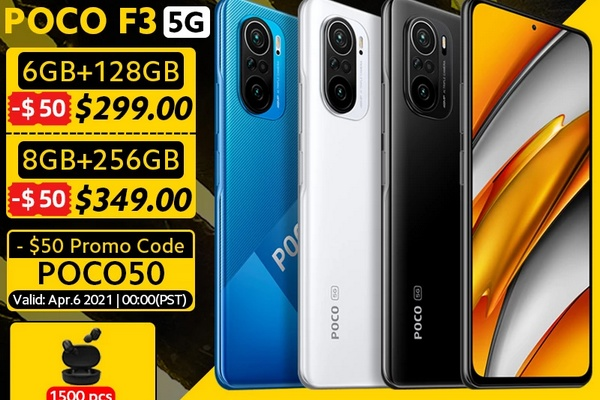 POCO F3 can be ordered from EU warehouse from 299 USD