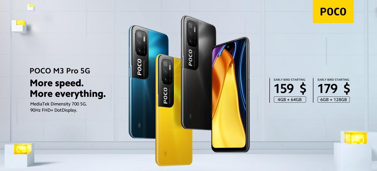 POCO M3 Pro 5G promotion