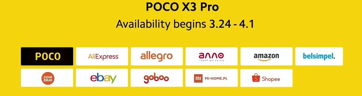 POCO X3 Pro - Buy from Official Xiaomi Partner