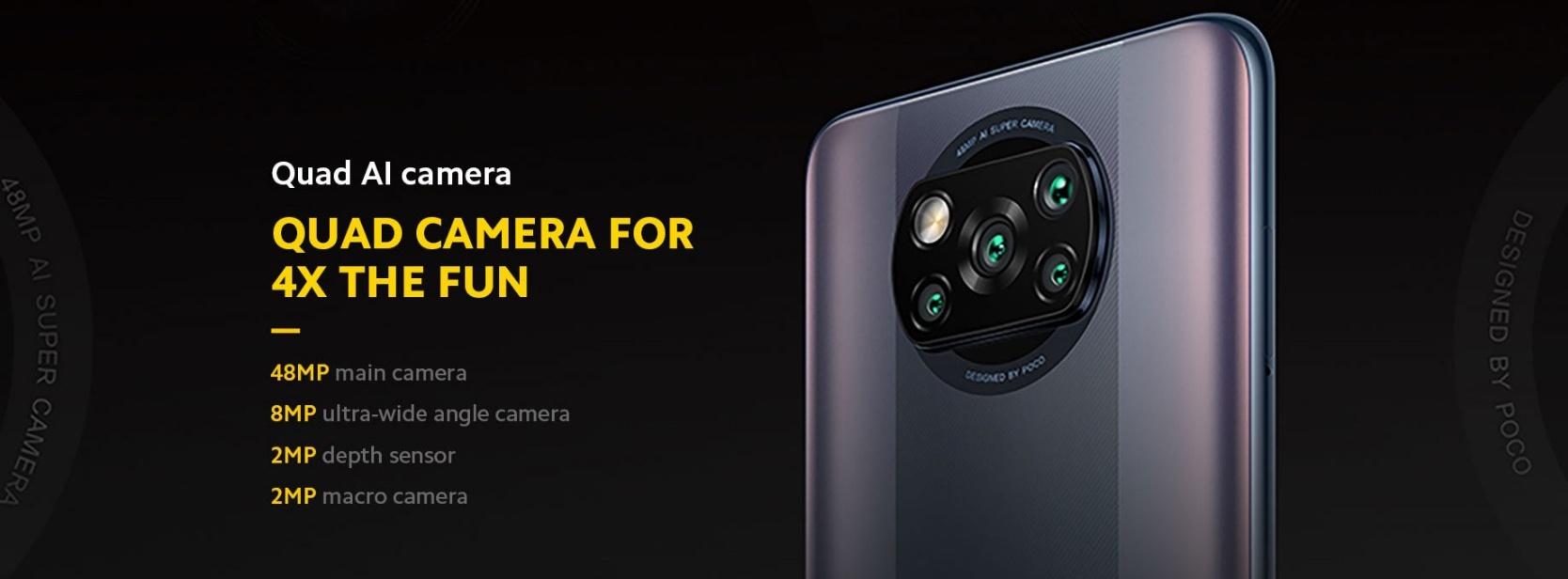 POCO X3 Pro - camera