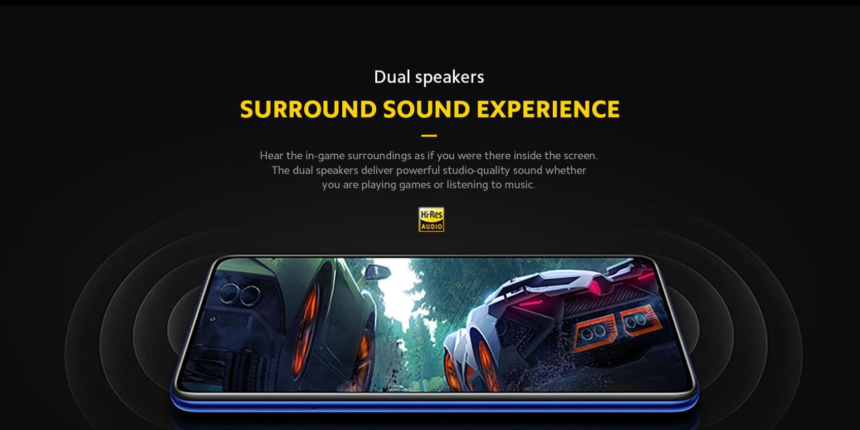 POCO X3 Pro - Dual Speakers