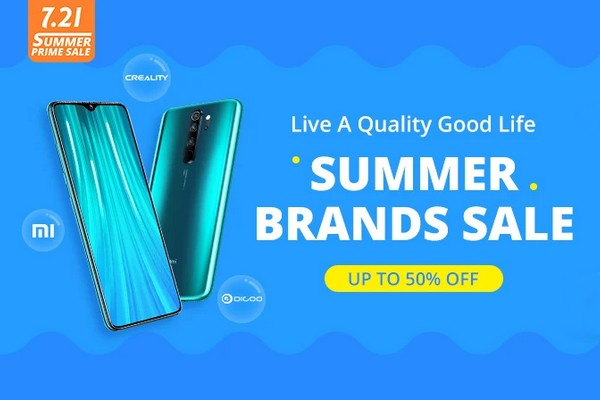 Banggood Summer Brands Sale 2020