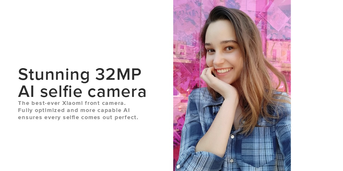 Xiaomi Mi A3 selfie camera