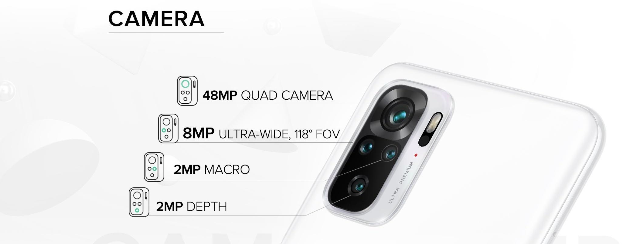 Redmi Note 10 - Camera