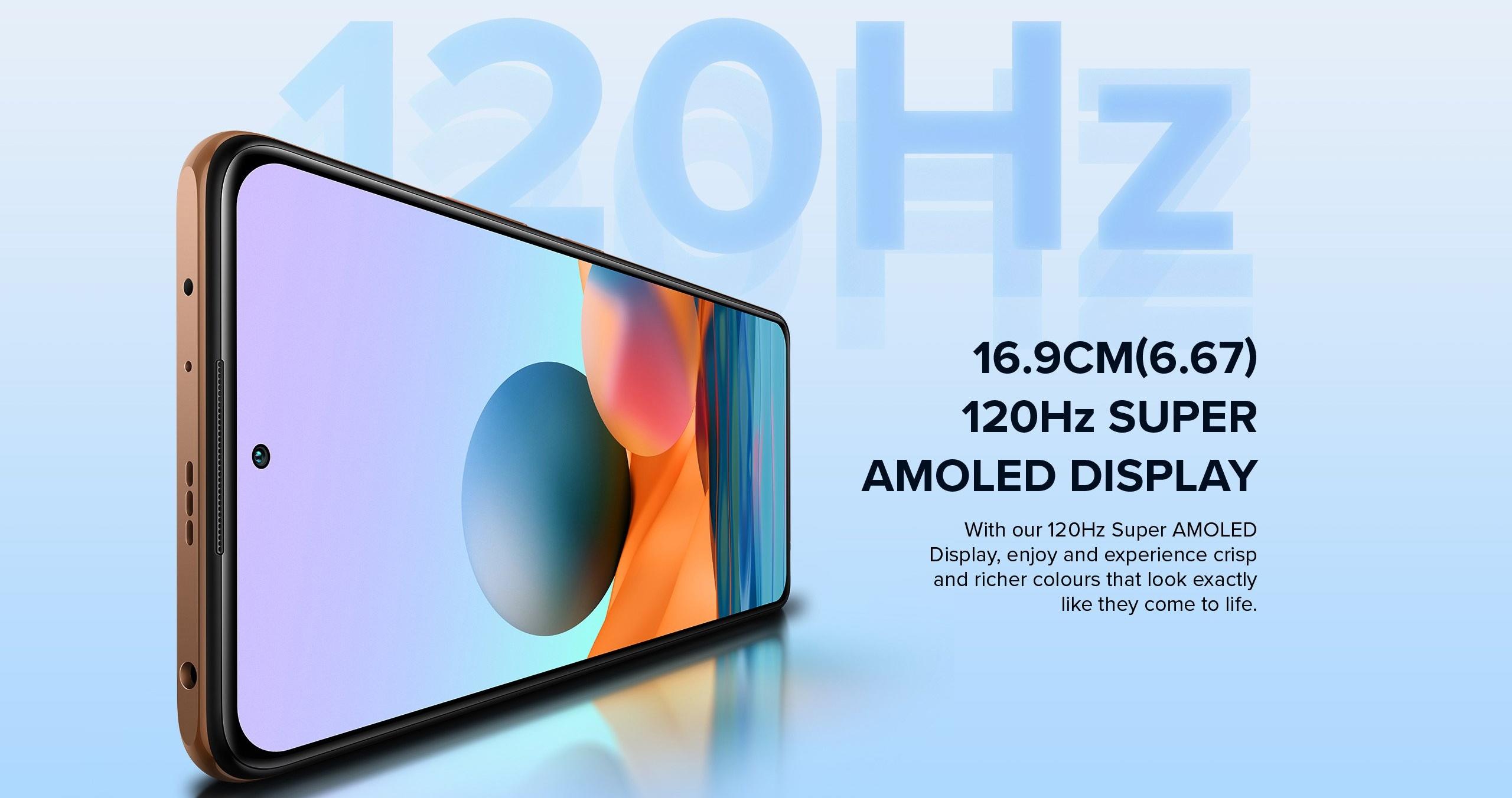 Redmi Note 10 Pro - 120HZ Super AMOLED