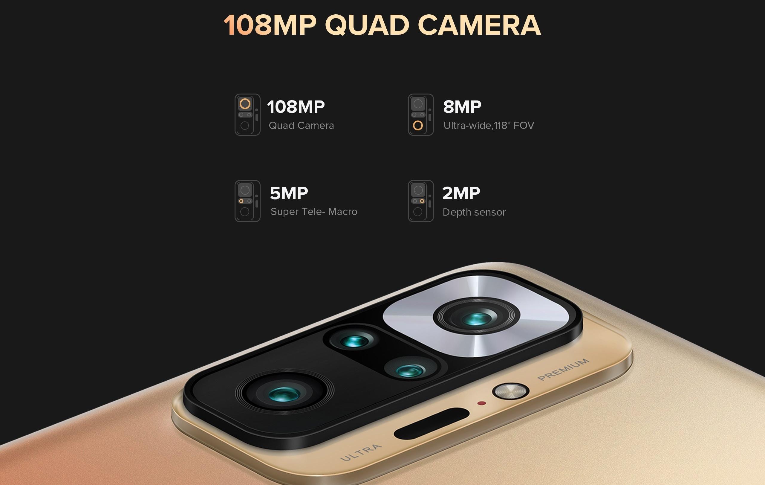 Redmi Note 10 Pro - 108MP camera