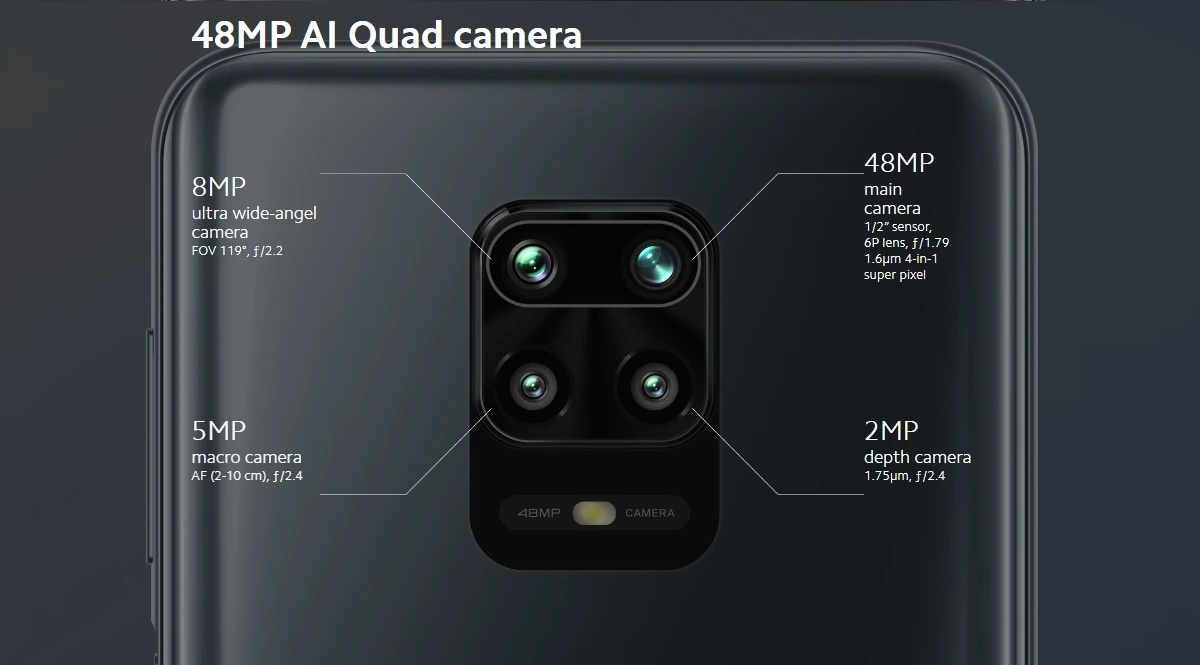 Redmi Note 9S - Camera