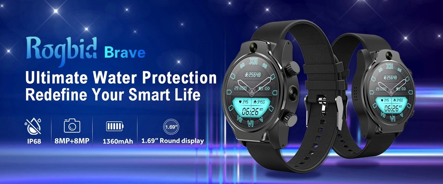 Rogbid Brave - 4G Smart watch