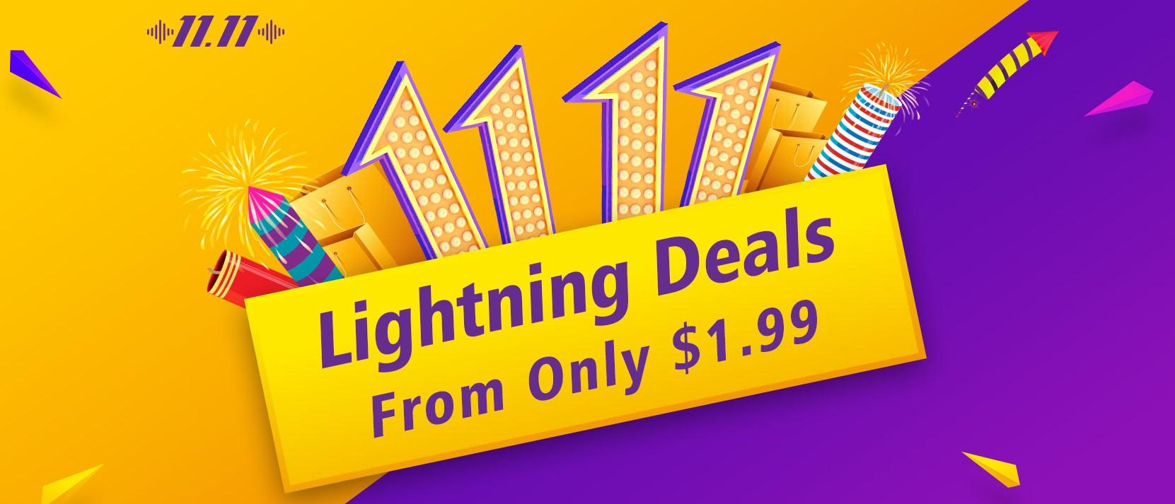 11.11 Lightning Deals