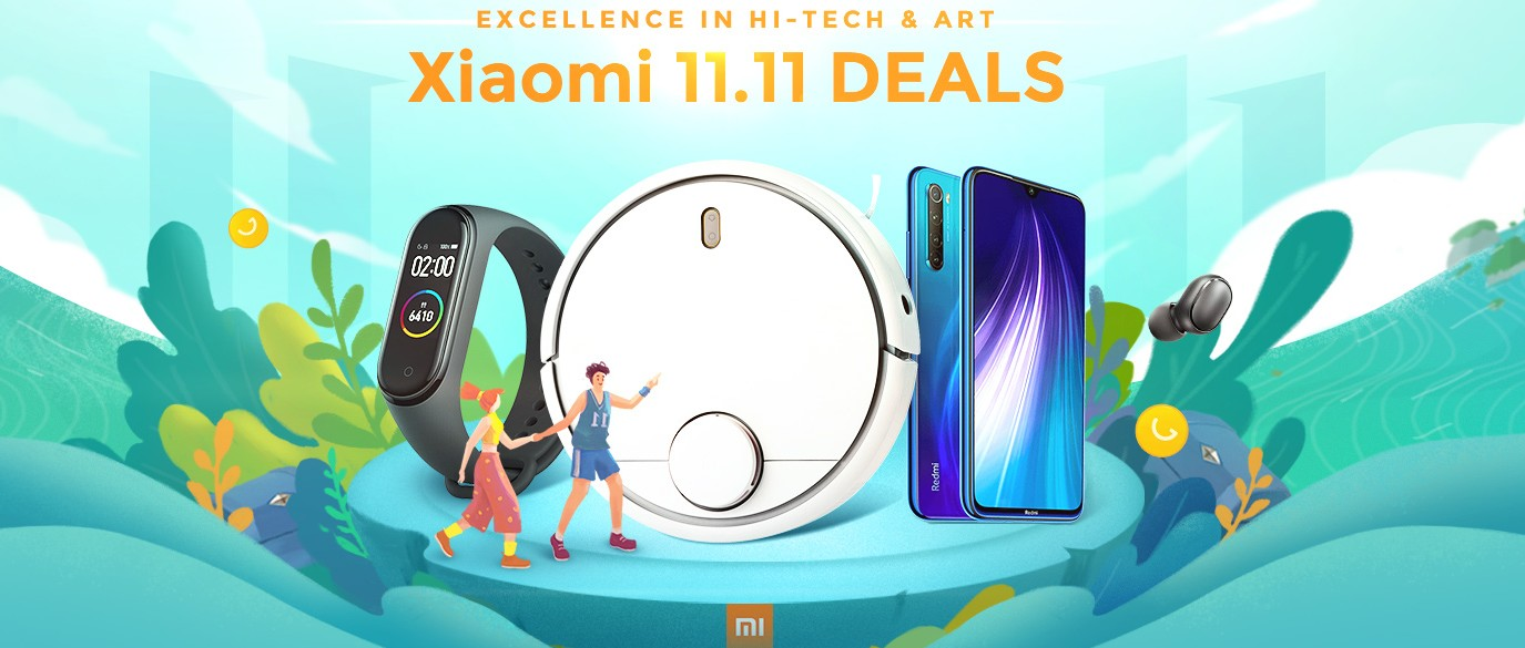 Xiaomi 11.11 Promotion