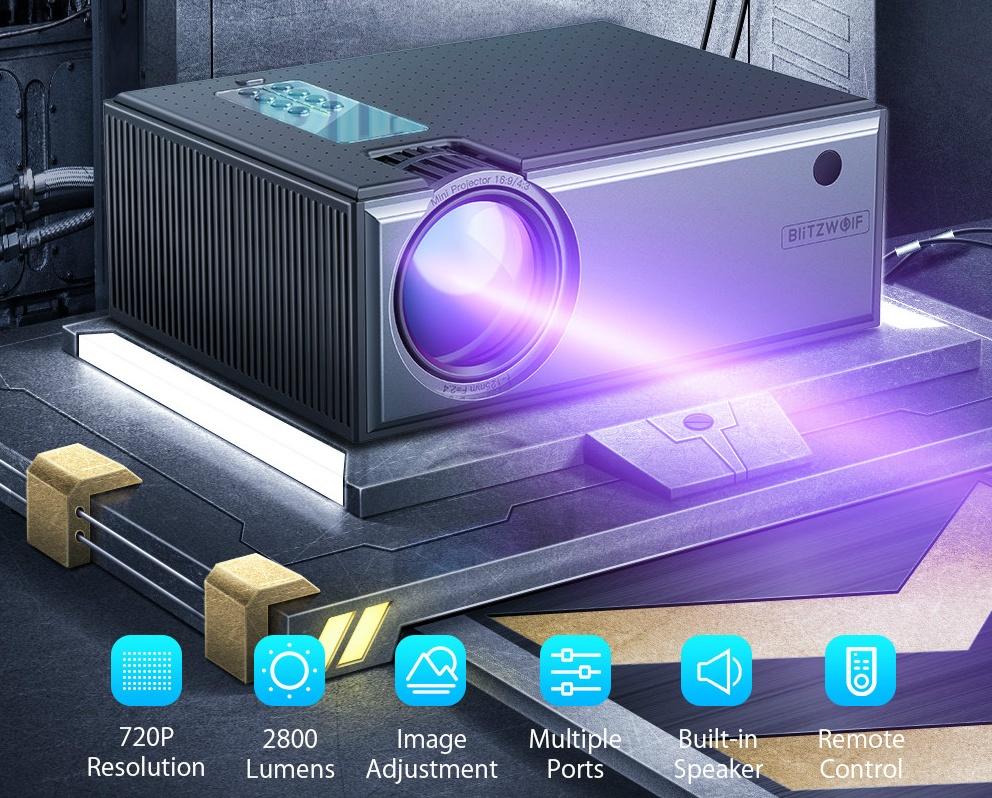 Blitzwolf BW-VP1 projector