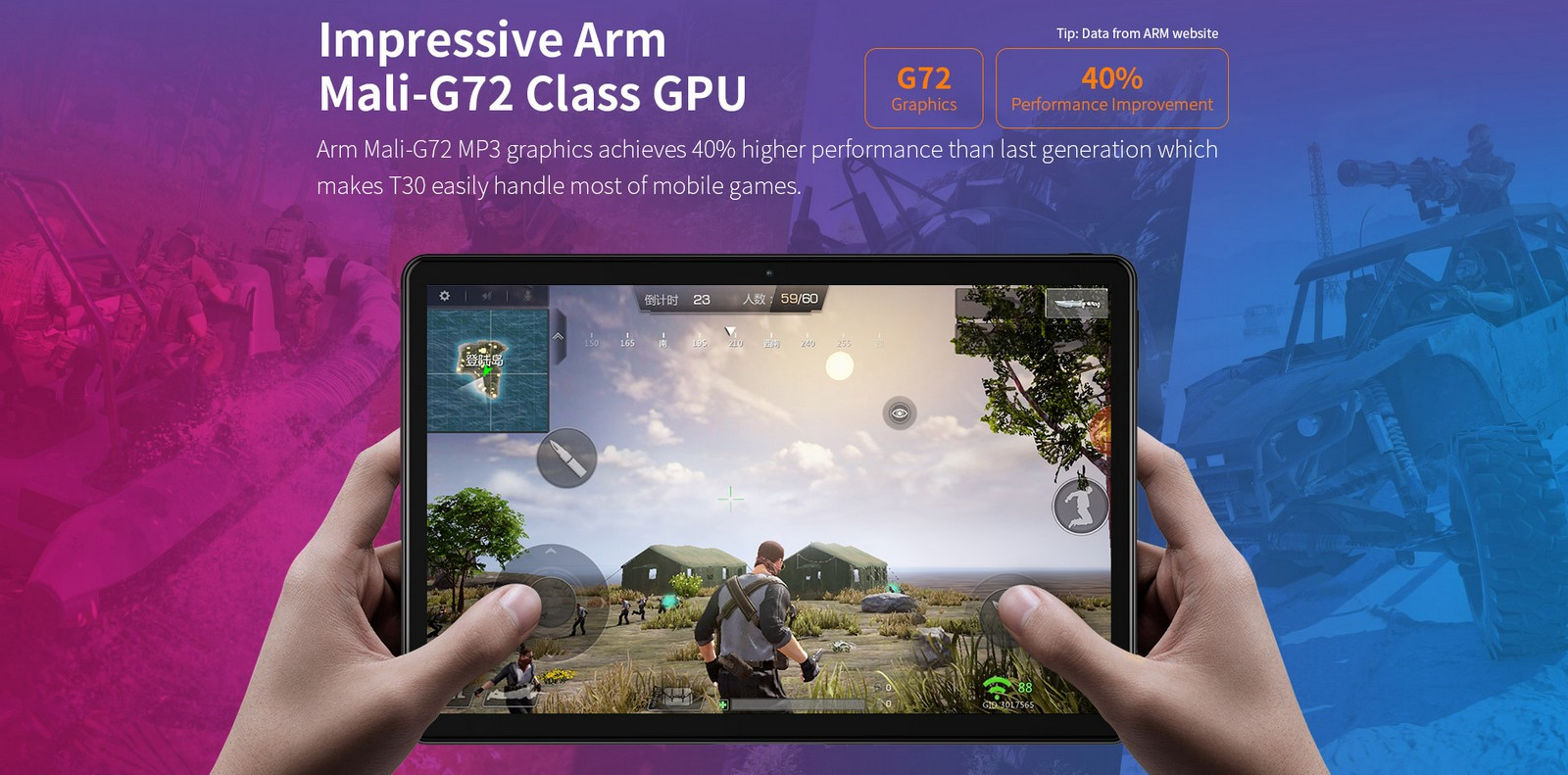 Teclast T30 - GPU