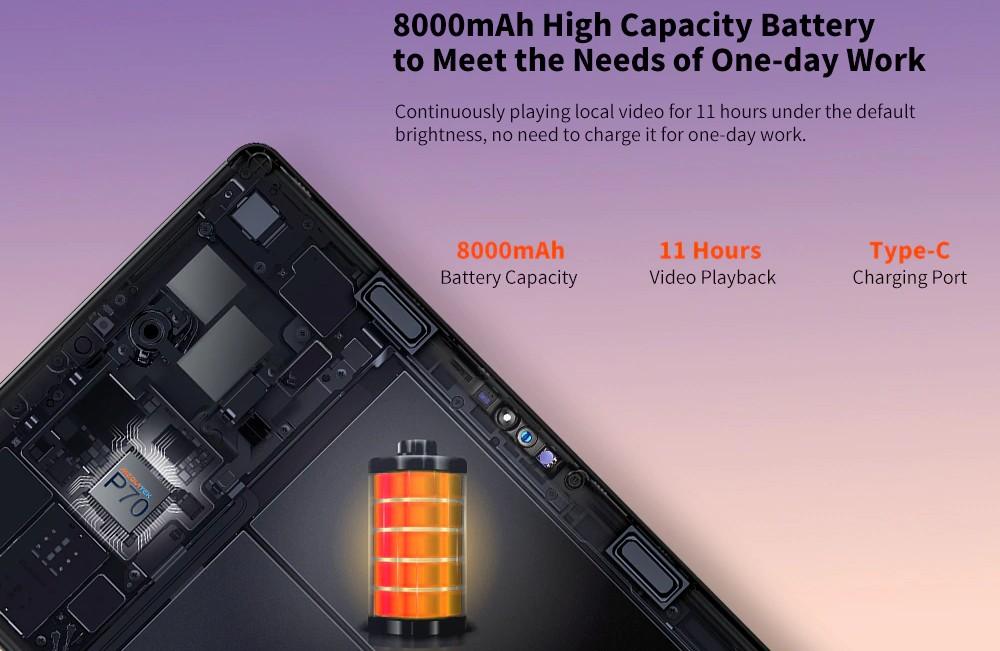 Teclast T30 - Battery