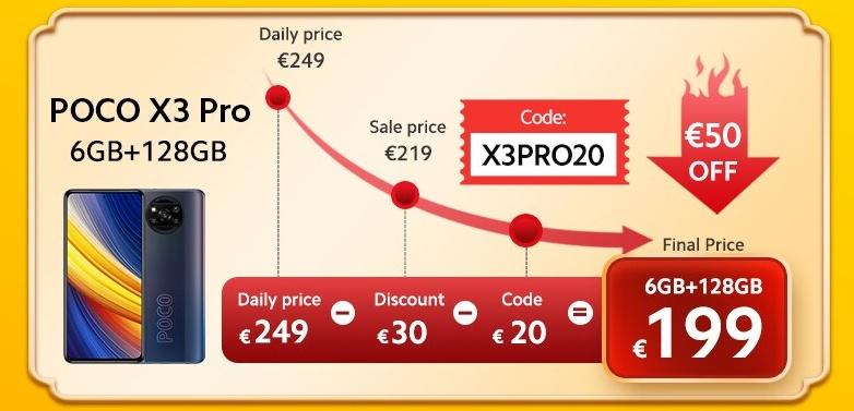 POCO X3 Pro promotion
