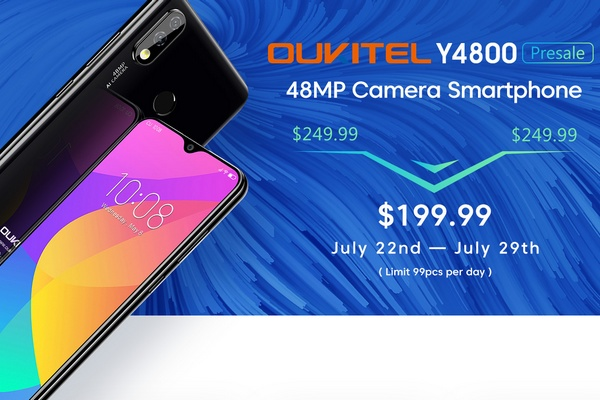 Oukitel Y4800 on sale