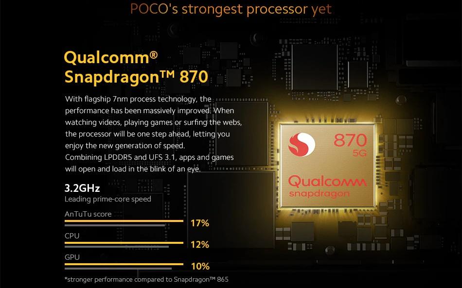POCO F3 - Snapdragon 870