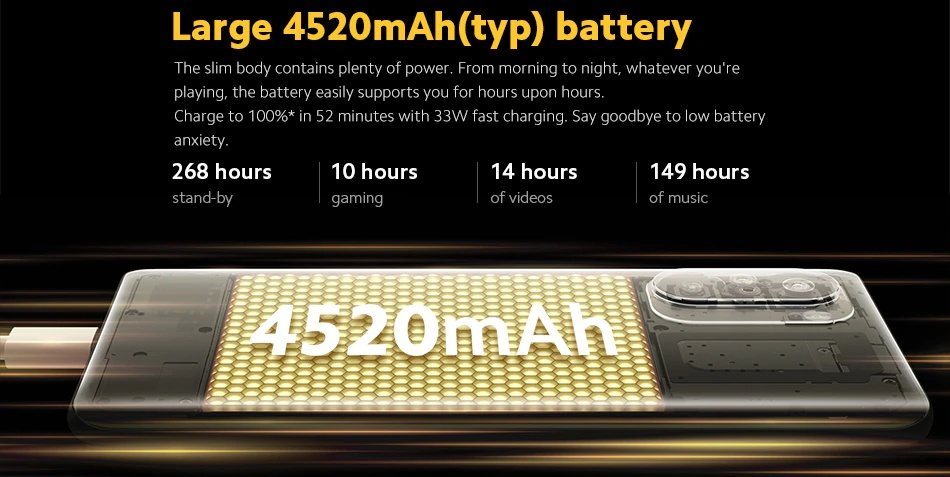POCO F3 - Battery