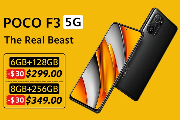 The POCO F3 5G has arrived - Here is the new king of mid-range phones