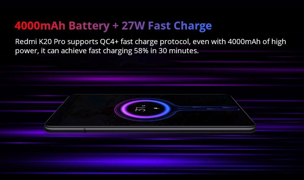 Xiaomi Mi 9T Pro battery