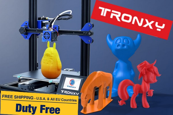 Tronxy 3D printers in action from European stock