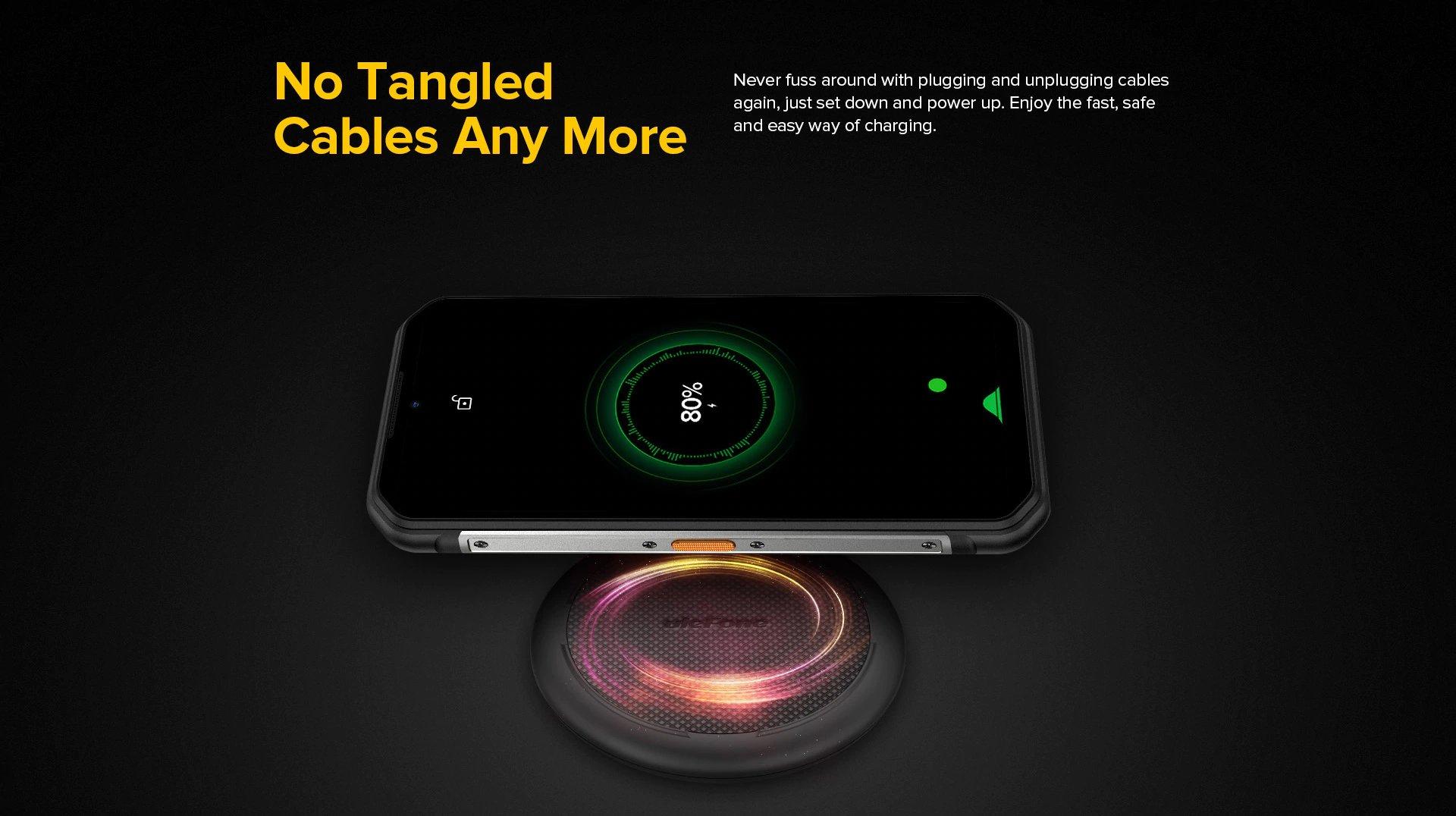 Ulefone Armor 11 - Wireless Charging