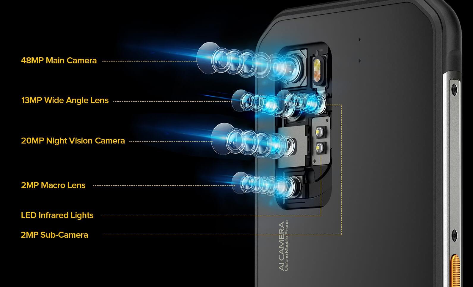Ulefone Armor 11 - 48MP penta camera