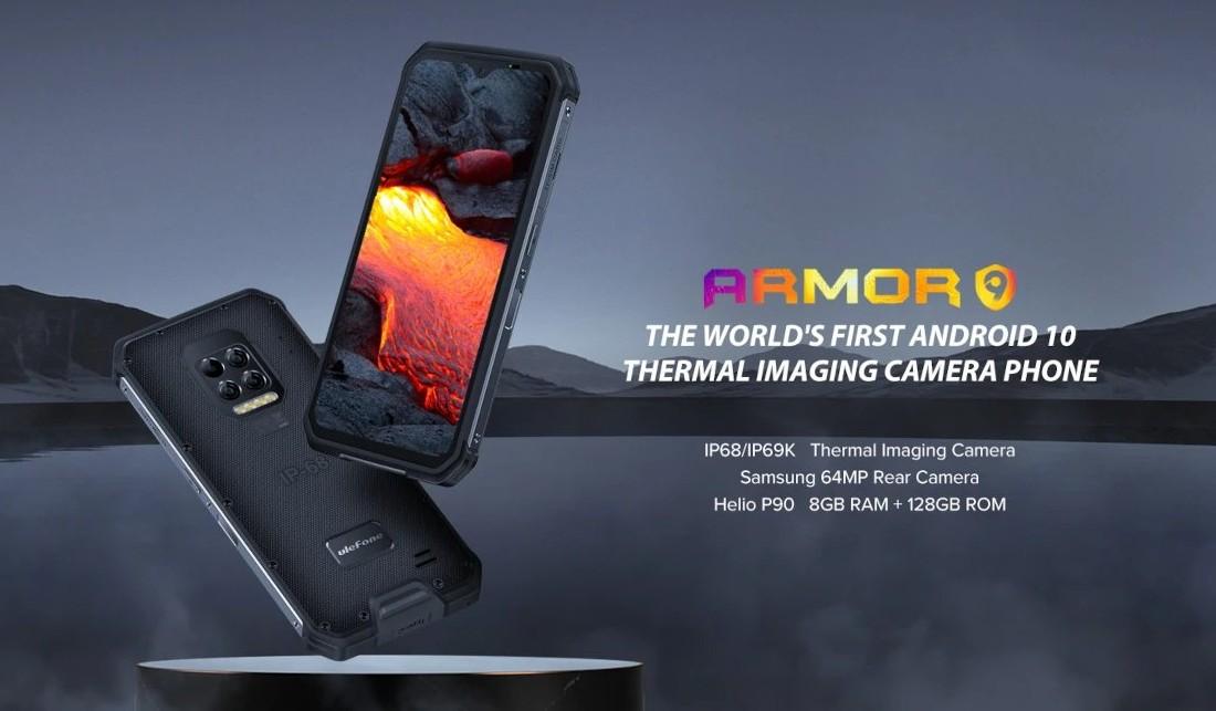 Ulefone Armor 9 - FLIR Thermal Imaging Camera