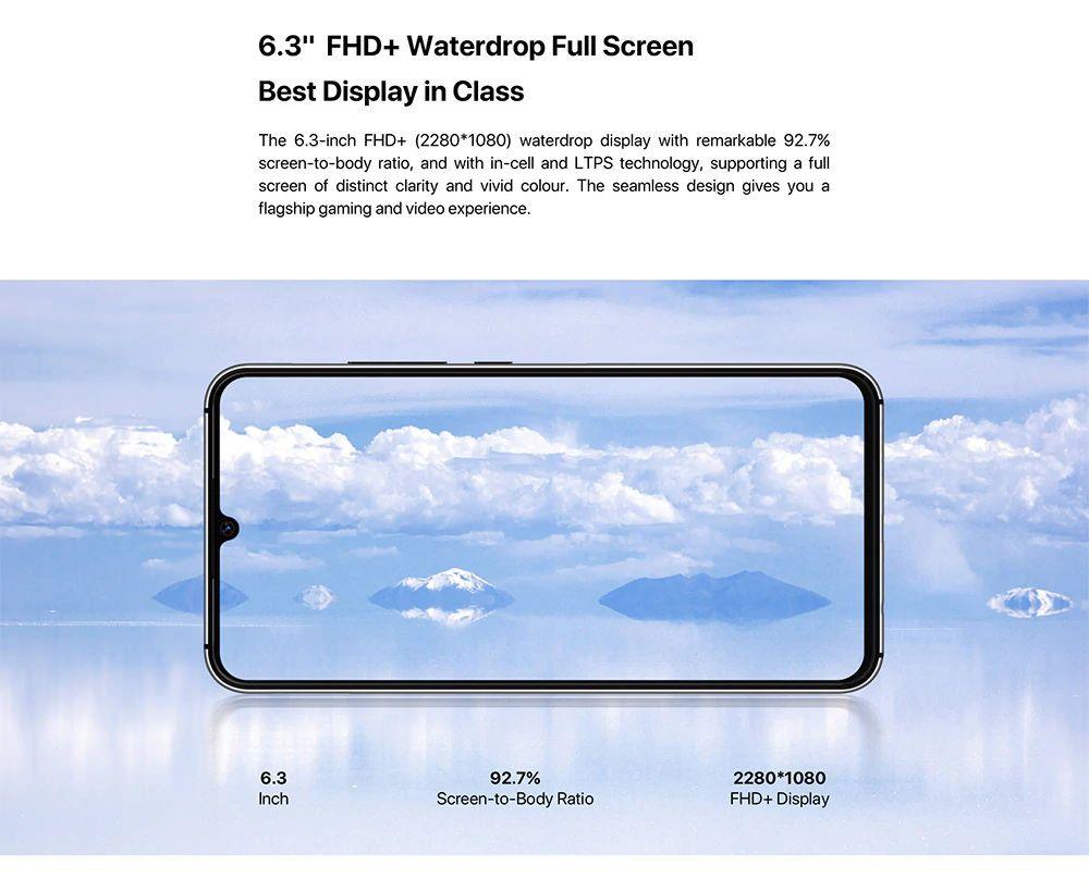 UMiDigi A5 Pro display