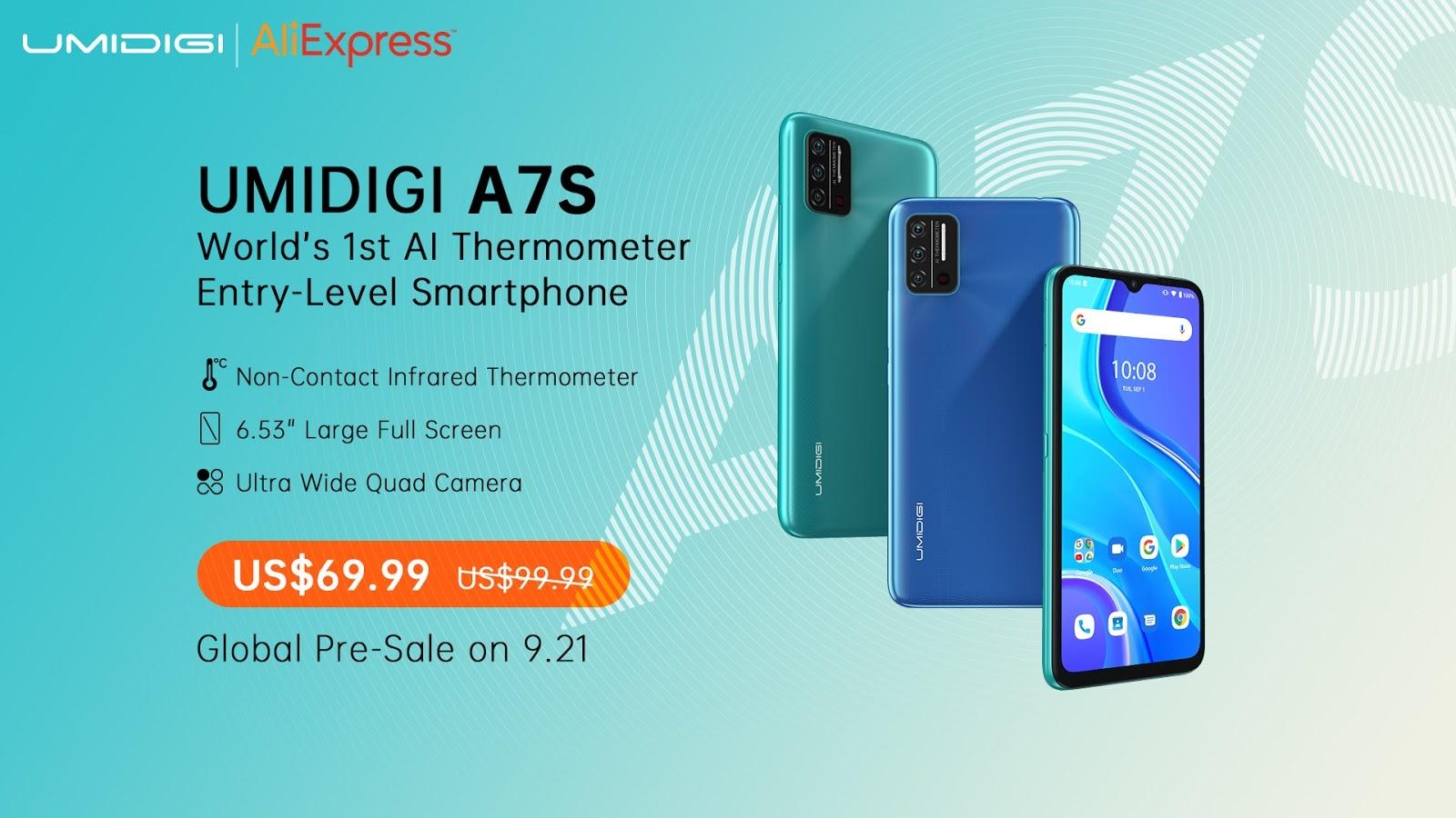 UMIDIGI A7S - Prices